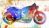 Moto V Art Print