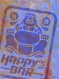 Happy Bar Art Print