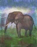 Africa Elephant Art Print