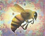 BB Bee Art Print