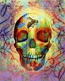 Bee Skull Art Print
