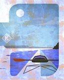 Kayak Art Print