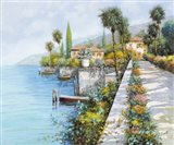 Lungo Lago Art Print