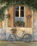 La Bici Art Print