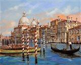 II Canal Grande Art Print