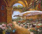 Il Mercato Sotto i Portici Art Print