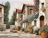 Piazza Verde Art Print