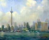 CN Tower, Toronto Art Print