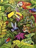 Tropical Scenery Art Print