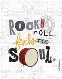 Rock and Roll 1 Art Print