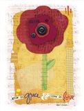 Pop Blossom 1 Art Print