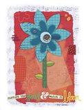 Pop Blossom 2 Art Print