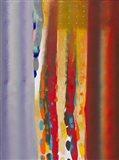 Color Storm Silhouette Art Print