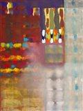 Color Storm at the Piazza Art Print