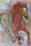 Red-Hoofed Runner Art Print