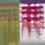 Color Storm Resonance Art Print