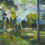 Valley of Green Art Print