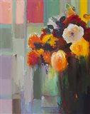 Asymmetrical Bouquet Art Print