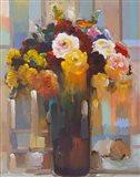 Golden Bouquet Art Print