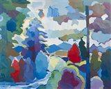 Stream into Consciousness #2 Art Print