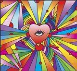 Heart Eye Pop Art Print