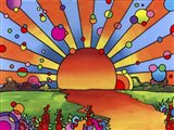 2014 Sunset Art Print
