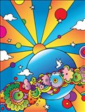 Cosmic Planet Art Print
