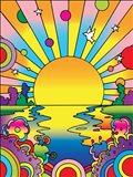 Cosmic Sun Art Print