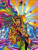 Jimi Color Art Print