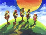 Sun Hill Art Print