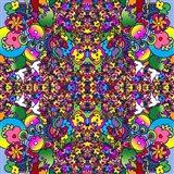 Flowers Kalidescope Art Print