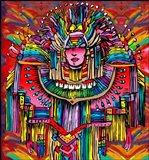 Mardigras Lady 1 Art Print