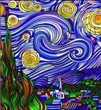 Starry Night 1 Art Print