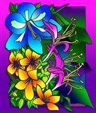 Kvilleflowers 8 Art Print