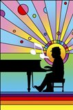Piano Player 1 Art Print