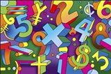Math Mural Art Print