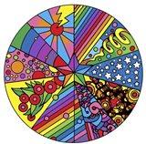Star Circle 2 Art Print