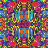 Cosmic Bang B Art Print