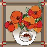 Poppy Bowl Art Print