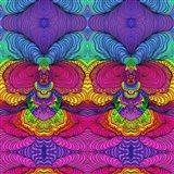 Swirls 316 A Art Print