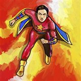Pop Art Mr Superhero Art Print