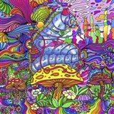 Pop Art Caterpillar Art Print