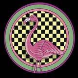 Pop Art - Flamingo Art Print