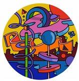 Mambo Circle Art Print