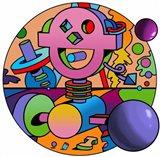 Morebo Circle Art Print