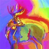 Pop Art - Deer 1 Art Print