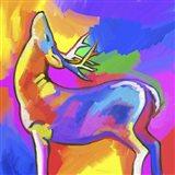 Pop Art - Deer 2 Art Print