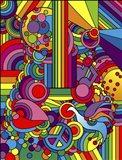 Pop Art - Guitar - Motif Art Print