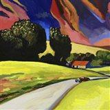 Pop Art - Retro - Landscape Art Print