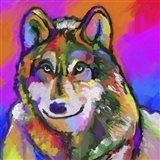 Pop Art - Wolf 1 Art Print